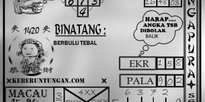 Prediksi Togel Singapura Rabu 16 Januari 2019
